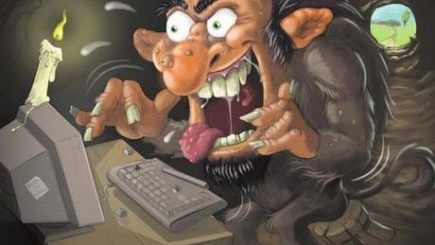 internet, sociopaths, comments, blogs, mods, narcissists, sadists, audience, research, hate speech, harassment, black women, abuse, verbal, anonymous, Youtube, dangerous, low intelligence,