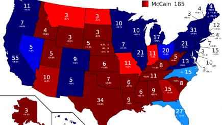 2008 Electoral Map
