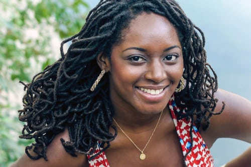Kaneisha Grayson, college admissions consultant and author of Be Your Own Boyfriend