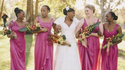 marriage, swirling, mixed race marriage, Australia, wedding, fusion, fashion, style, formal, African, Caucasian,