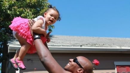 Doyin Richards, baby, biracial, viral, daddy, fatherhood, black men, children, Baby Bjorn, viral, racist, hate mail, blogger,