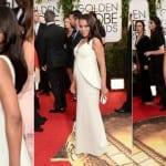 Kerry Washington Shows Baby Bump At Golden Globes