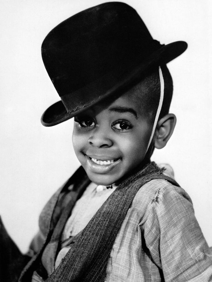 "Matthew ""Stymie"" Beard, child actor, black, historic, Our Gang, media, television, Hollywood,"