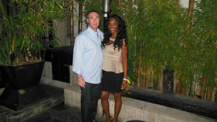 model, Hollywood, entertainment, culture, hate speech, opinions, mixed marriage, Swirlr, interracial dating, marriage, engagement, Lanisha Cole, Rick Licht, black women, white man, hate speech, blogger, The Price is Right, Deal or No Deal,