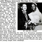 Swirling In History: Vintage News Clippings of Couples Who Dared to Love When It Was Damn Scary