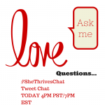 Relationship Tweet Chat Today, 4PM PST/7PM EST