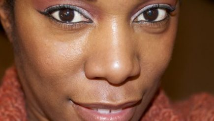 IMATS, CAITLYN, face, black women, makeup, tips, advice, eyeliner, highlight, fashion, style, brown skin, doe eyes, get this look,