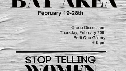 art, Betti Ono Gallery, Tatyana Fazlalizadeh, Oakland, California, catcalling, social campaign, exhibit, black women, sexual harassment, California, event,
