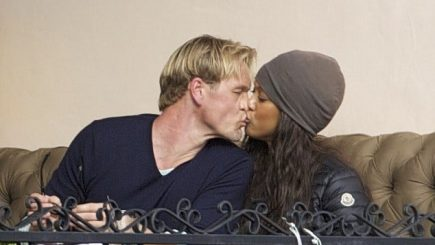eric asla, tyra banks, america's next top model, dating, boyfriend, romance, kisses, interracial, marriage,