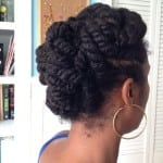 Got Mid-Length Hair? Consider Flat Twists To Protect Your Length.