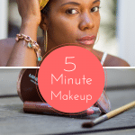 Save Some Major Money on this Five Minute Mineral Makeup Look