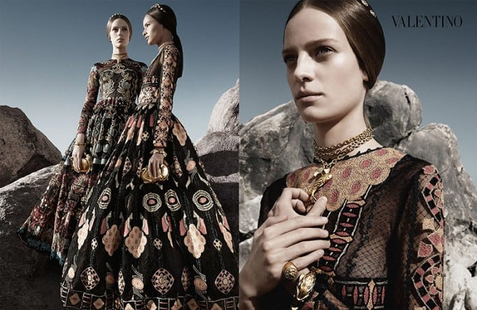 Malaika-Firth-for-Valentino-SS2014-Ad-Campaign-Bellanaija-January-2014005