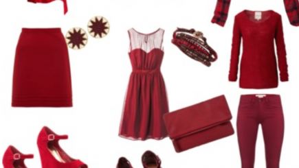 fashion, style, inspiration, red, spring, black women, dressing, clothes,