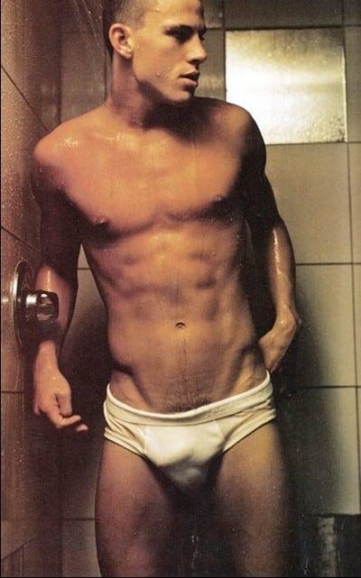 Channing Tatum, man candy, sexy men, mondays, wet guys, guys in the shower, steamy photos, interracial, non black men, black women, dating, swirling