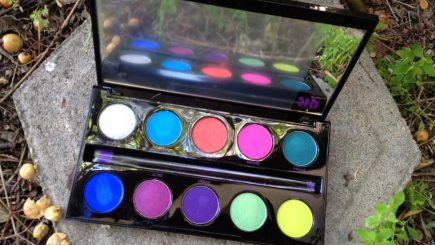 urban decay, electric, colors, black women, make up, style, fashion, inspiration, face, black women makeup tips, spring, style, black women colorful makeup, palettes,
