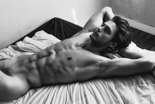Men in bed white 13 Things