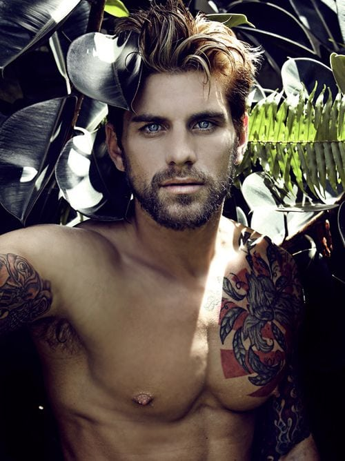 hot guys with beards, Man Candy Monday, sexy, non black men, dating outside your race, do white men like black women, men with facial hair, Pinterest, Tumblr, celebrities with beards, models with beards, drool, flirting, black women, lifestyle, advice, entertainment,