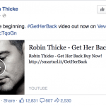 Robin Thicke and His Very Public Attempt to Win Back His Wife. You Buying It?