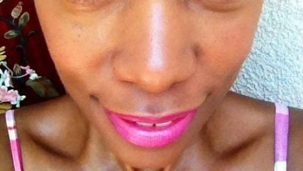 beauty tips, makeup, pink lipstick, fashion, style, Mineral Fusion, colors, Spring, inspiration, Chris tries it for you,