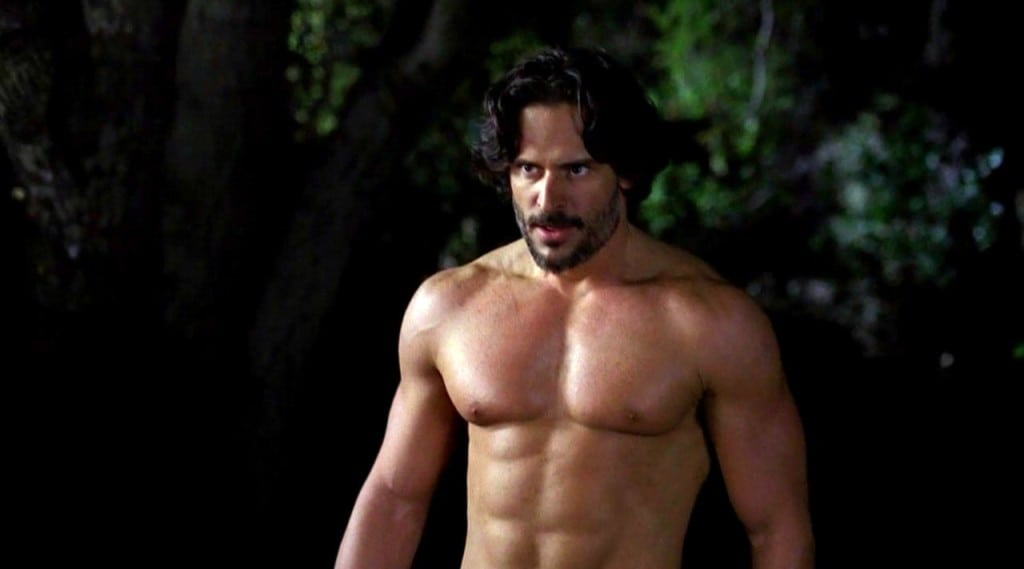 Joe Manganiello, True Blood finale, television, sexy men, chest, werewolf,