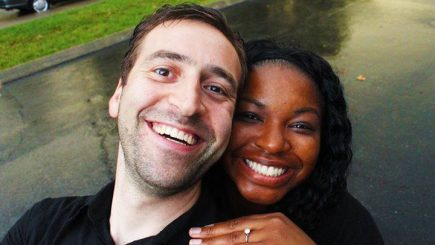 engagement, video, mixed couple, blended family, swirling, interracial, Youtube,