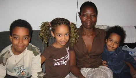 Zivko and Rose and children
