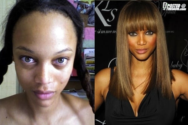 skin care, makeup, celebrities, MAC, black women, style, routine, lips, eyes, foundation, dark skinned black women,  Kerry Washington, Tyra Banks, Rihanna, Michelle Obama,