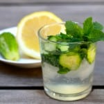 Nutritious, Thirst Quenching Mint and Cucumber Spritzer!