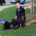 WTF is WRONG with the Police? Teen Girl Gets Hair Pulled, Handcuffed by Cretin Police Officer