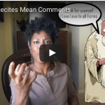Christelyn Recites Mean You Tube Comments!