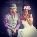 Love It! Gorgeous Couple Ties the Knot!