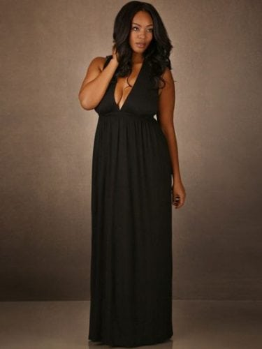 hc805_Plus-Size-Soft-and-Comfy-Dress-with-Criss-Cross-Back_Black