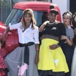 Serena Williams Bops the Baby Bump at 50's Themed Baby Shower!
